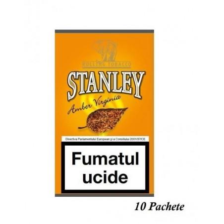 Tutun pentru rulat Stanley Amber Virginia 10 pachete