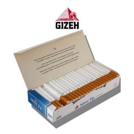 Tuburi tigari Gizeh Silver Tip Charbon 100