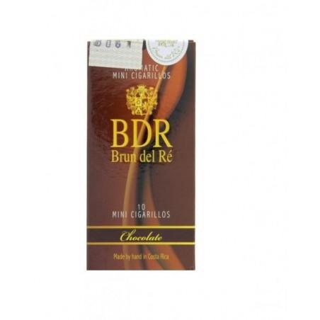 Tigari de foi Brun del Re Mini Chocolate 10