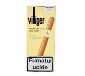 Tigari de foi  Villiger Premium No.3 Sumatra 5