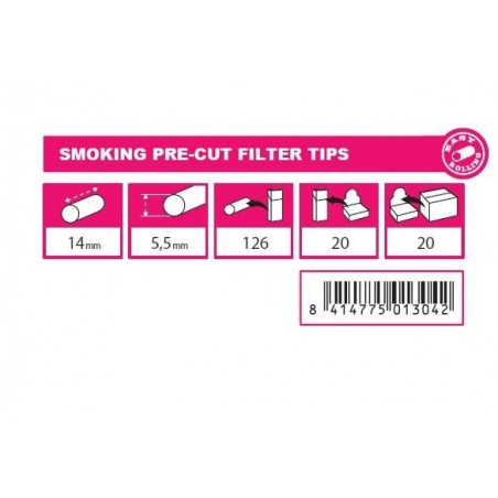 Filtre tigari Smoking Pre Cut Filter Tips