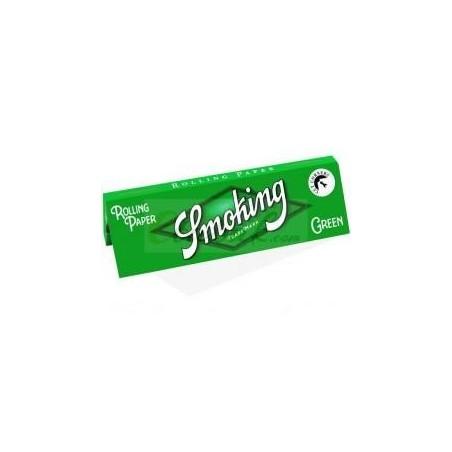 Foite de rulat Smoking Regular Green 60
