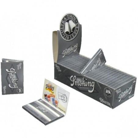 Set foite de rulat Smoking Regular Master Double 25 pachete