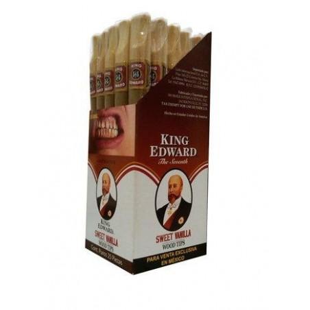 Tigari de foi King Edward Wood Tips Vanilla 50