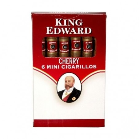 Tigari de foi King Edward Mini Cigarillos Cherry 60