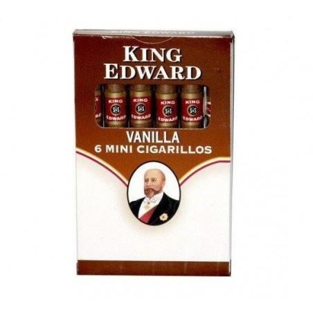 Tigari de foi King Edward Mini Cigarillo Vanilla 6