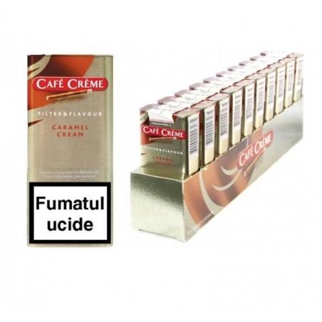 Tigari de foi Cafe Creme Filter Caramel Cream 100
