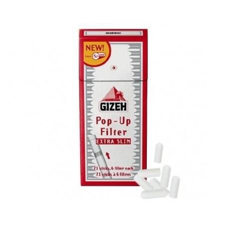 Filtre de rulat Gizeh Extra Slim Pop-Up Filter 126