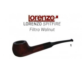 Pipa Lorenzo Spitfire Filtro Walnut 1