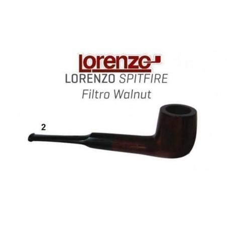 Pipa Lorenzo Spitfire Filtro Walnut 2