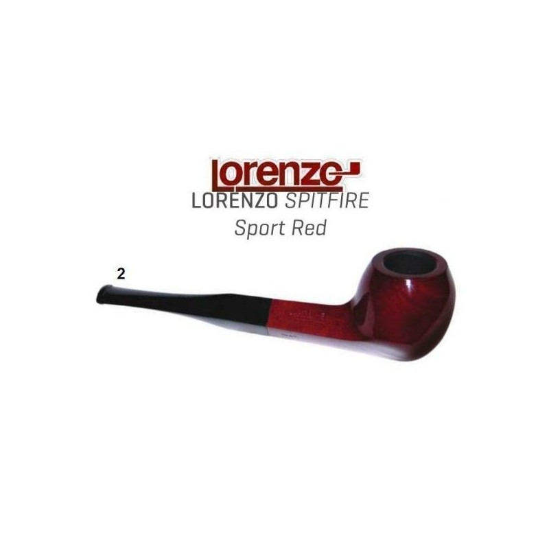 Pipa Lorenzo Spitfire Sport Red 2