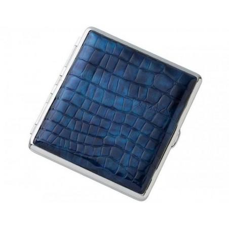 Tabachera Angelo Croc Albastru Cauciuc 20 tigarete