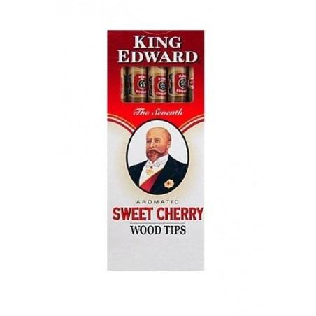 Tigari de foi King Edward Wood Tips Cherry