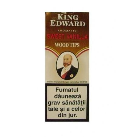 Tigari de foi King Edward Wood Tips Vanilla 5