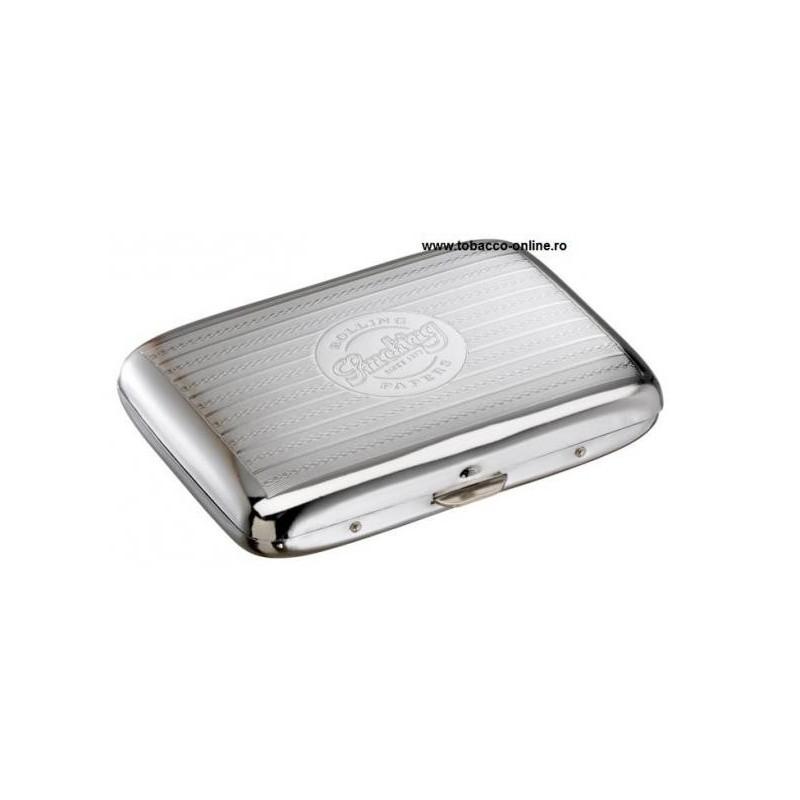 Tabachera tigari Smoking Cigarette Case