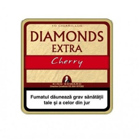 Tigari de foi King Edward Diamonds Cherry 10