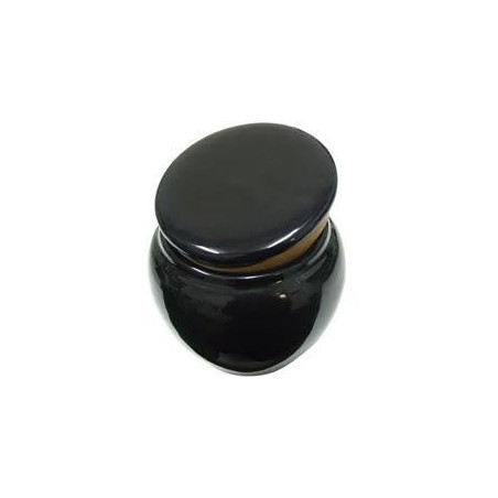 Vas de tutun Aurora Savinelli Black