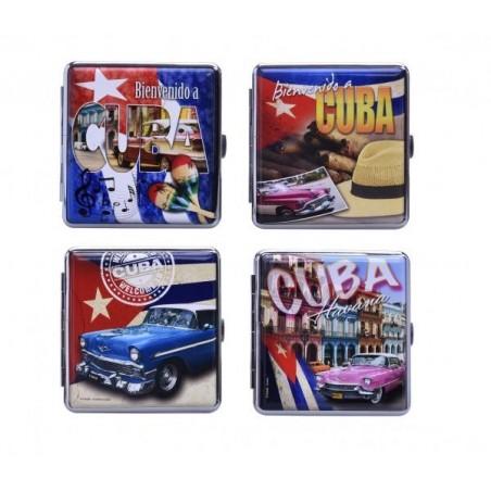 Tabachera pentru 20 tigarete Champ Cuba