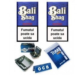 Set de accesorii de rulat Bali Shag Halfzware Complet