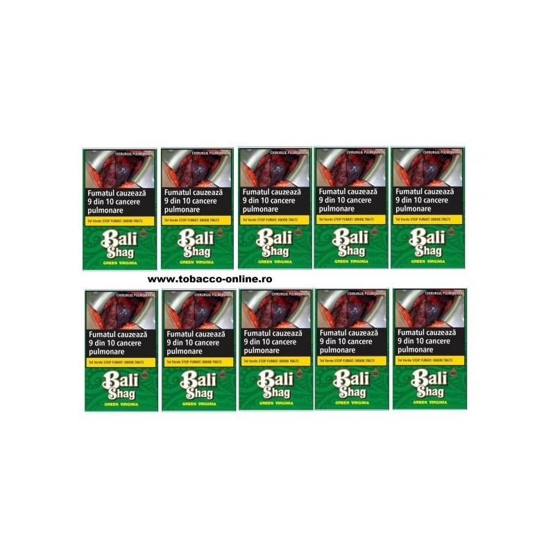 Tutun de rulat Bali Shag Premium Virginia 10 Pachete