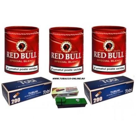 Set tutun de injectat si accesorii Red Bull Special Blend