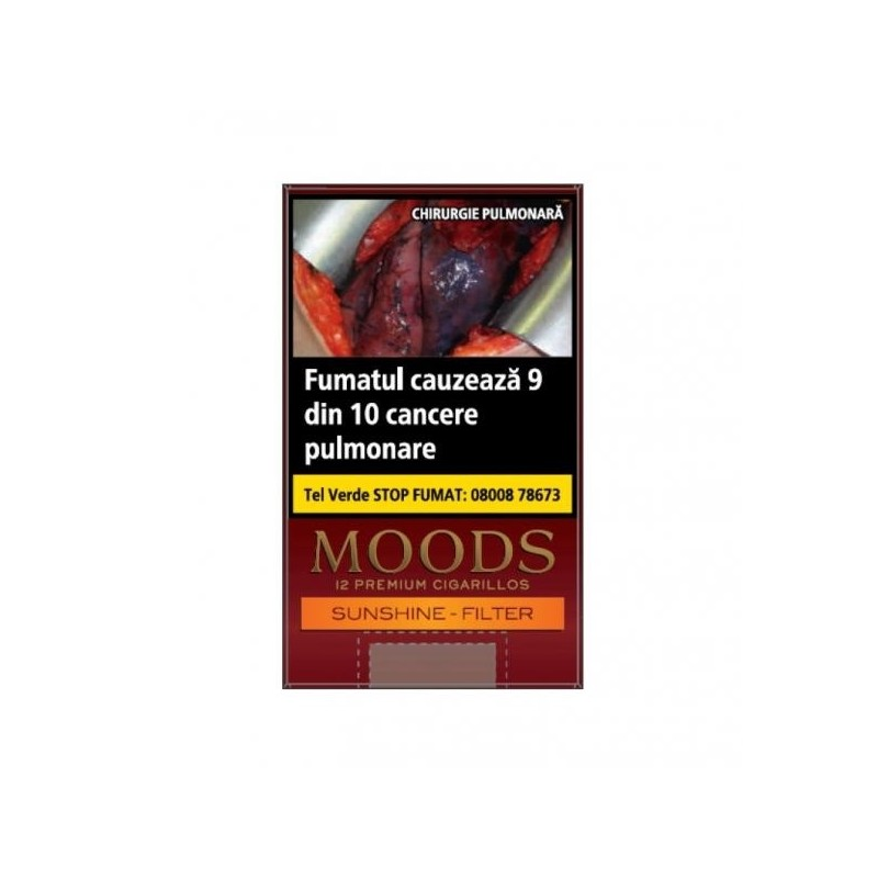 Tigari de foi Moods Sunshine Filter 12
