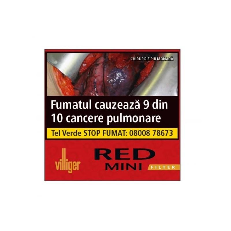Tigari de foi Villiiger Red Mini Filter 10