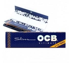 Foite de rulat OCB Slim King Size si filtre carton Ultimate