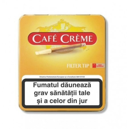 Tigari de foi Cafe Creme Filter Tip