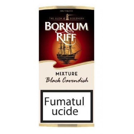 Tutun de pipa Borkum Riff Black Cavendish