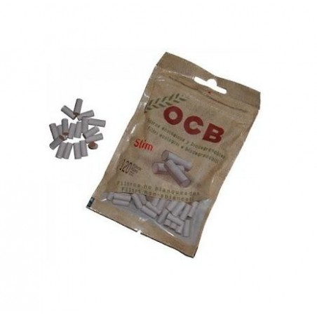 Filtre tigari Slim OCB biodegradabile