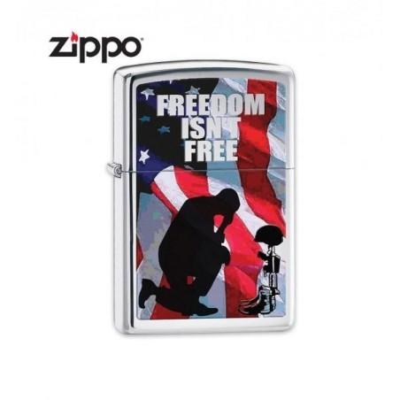 Bricheta Zippo Freedom Isn't Free