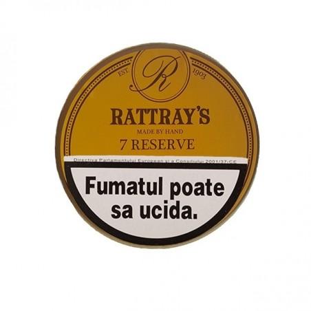 Tutun pentru pipa Rattrays 7 Reserve 50g