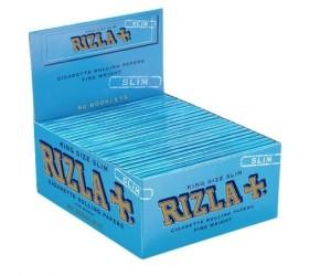 Foite rulat tigari Rizla King Size Blue Slim