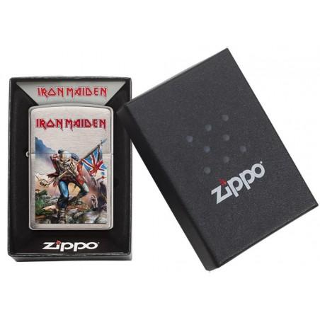 Bricheta Zippo 29432 Iron Maiden The Trooper