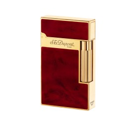 Bricheta S.T. Dupont Ligne 2 Atelier Cherry Red Yellow Gold