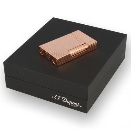 Bricheta S.T. Dupont Diamond Head Pink Gold Finish