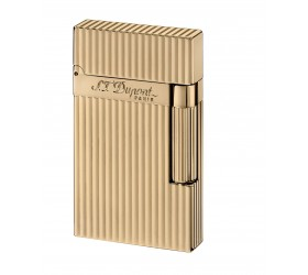 Bricheta S.T. Dupont Gold Plated Vertical Lines