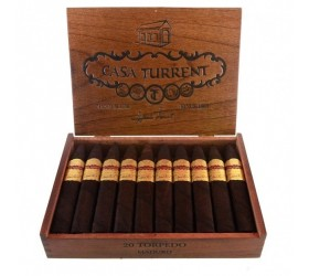 Trabucuri Casa Turrent 1901 Torpedo Maduro Round 20