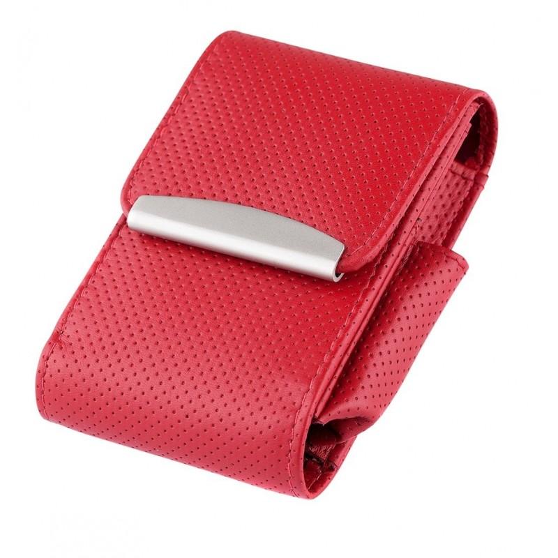 Husa pachet tigari Angelo Leather Red