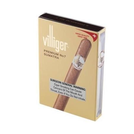 Tigari de foi Villiger Premium No.7 Sumatra