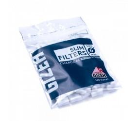 Filtre de rulat Gizeh Slim Filter Charcoal 120