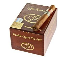 Trabucuri La Flor Dominicana Double Ligero 600 Robusto Grande 20