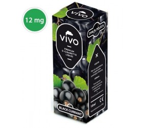 Lichid tigara electronica Vivo Black Currant 12mg 10ml