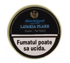 Tutun pentru pipa Robert McConnell Latakia Flake