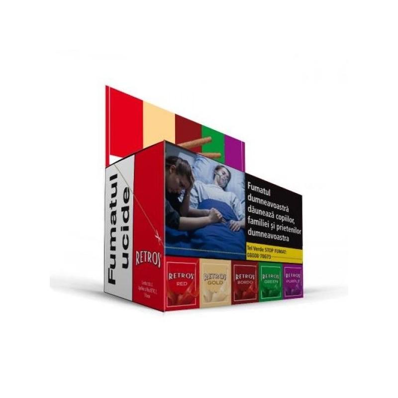 Tigari de foi Retros Mix Box 50
