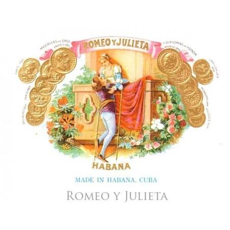 Trabucuri Romeo y Julieta Coronitas en Cedro 25
