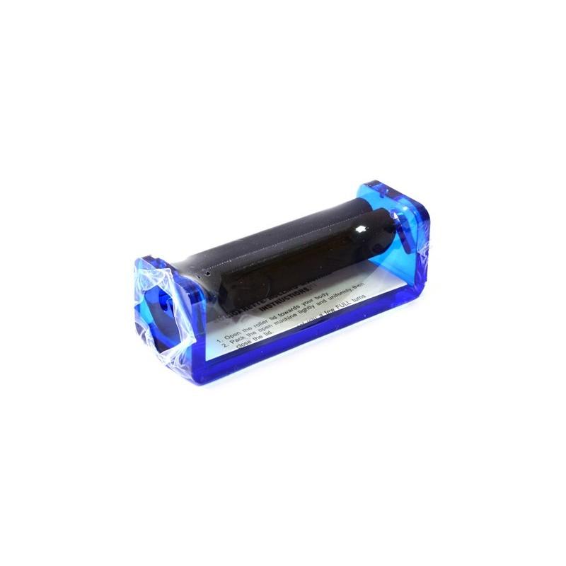 Aparat rulat tigarete plastic 70 mm Toro Albastru