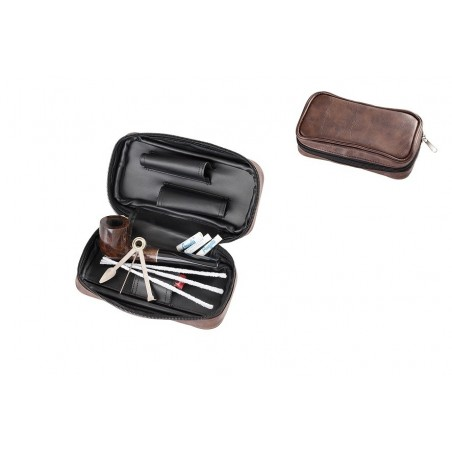 Set pipa si accesorii Angelo Straight 830410