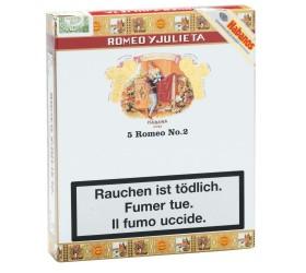 Trabucuri Romeo y Julieta No 2 Tubos 5
